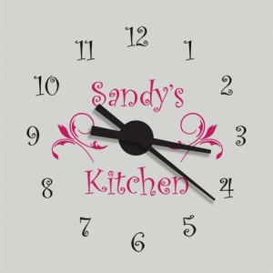 Katazoom Viny Wall Clock Decal