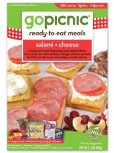 Salami and Cheese GoPicnic Meal