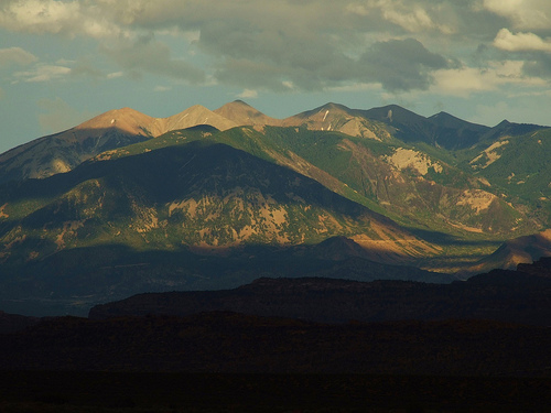 The Southern Rocky Mountains.