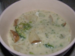 Delectable Additions Potato Soup