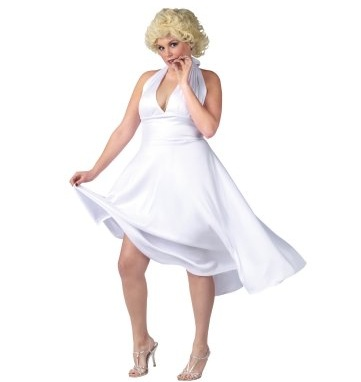 Marilyn Monroe Deluxe Classic Adult Plus Costume 68348