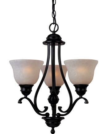 Maxim Lighting 85804 Linda EF Energy Smart 19 Inch Single Tier Chandelier