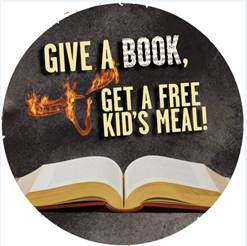 Give a Book Get a Meal
