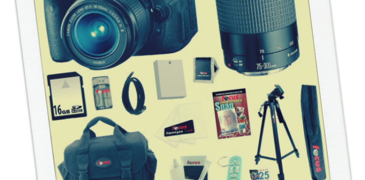 Canon Eos Bundle Giveaway