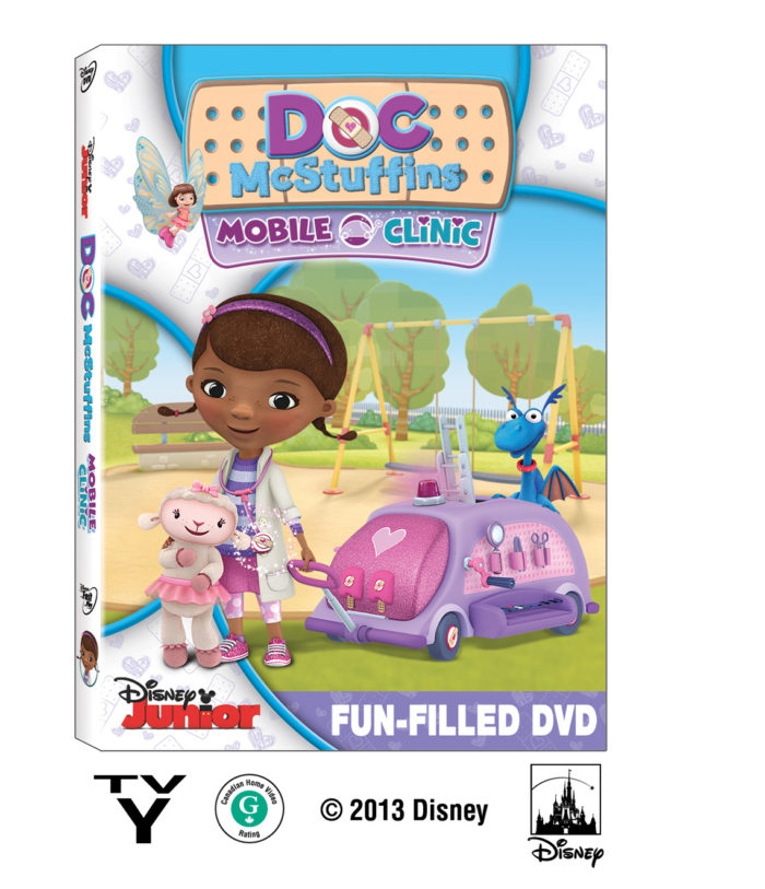 Doc McStuffins: Mobile Clinic #Giveaway