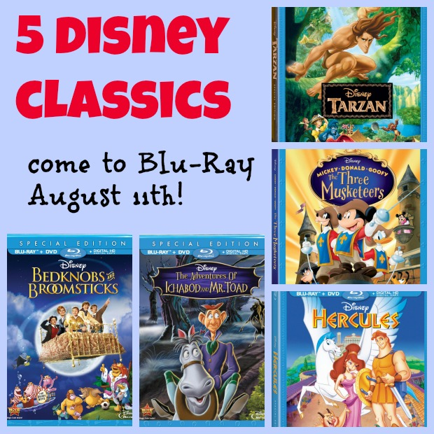 {Giveaway} 3 Disney Blu-Ray Movie Packs