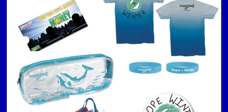 Dolphin Tale 2 Hollywood Movie Prize Pack