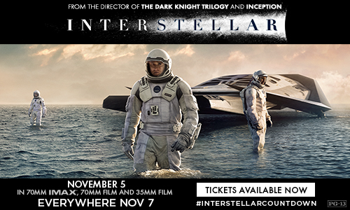 Paramount Motion Pictures Presents Interstellar
