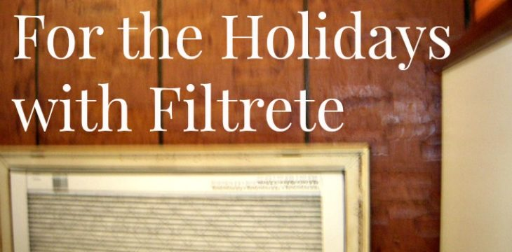 Getting Ready For the Holidays with Filtrete