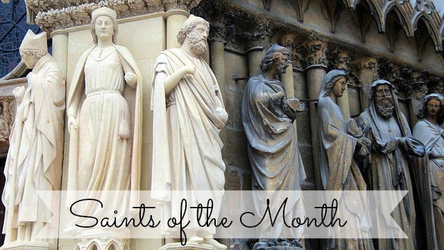 Saints for the Month of January