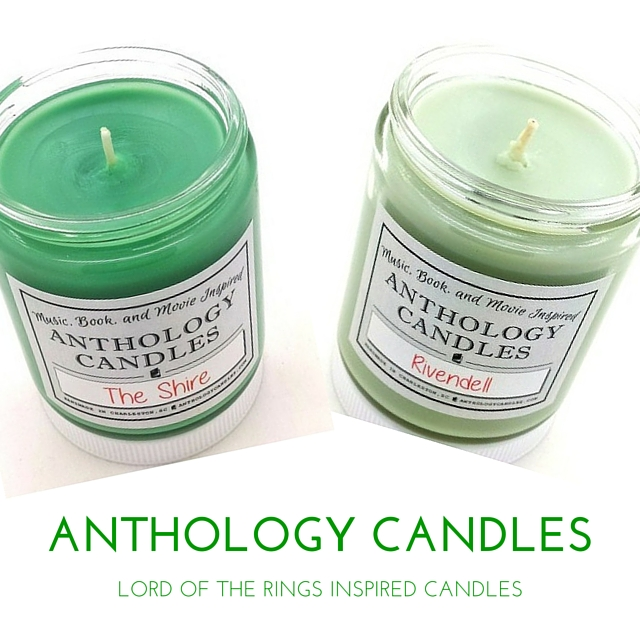 Anthology Candles Spotlight: Lord of the Rings