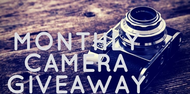 monthly camera giveaway