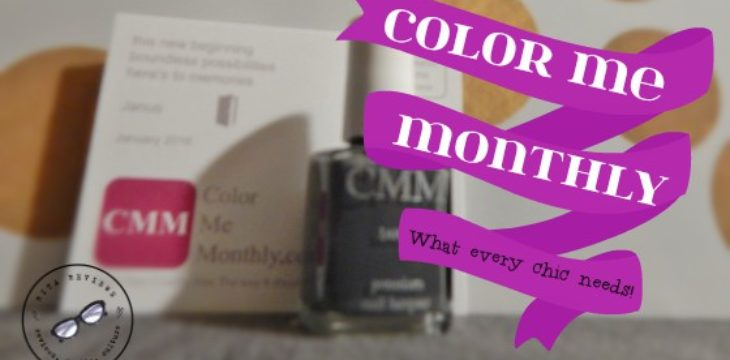 Color Me Monthly What Every Chic Needs
