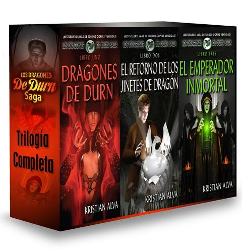 Los Dragones de Durn Saga, Trilogía Completa is Live!