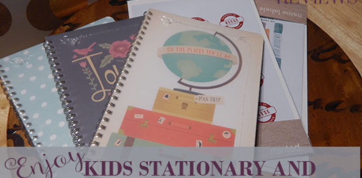 enjoy kids stationary and more at minted