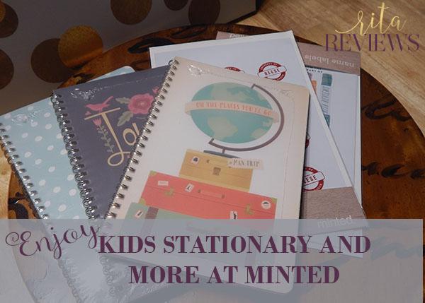 Minted Kids Stationary
