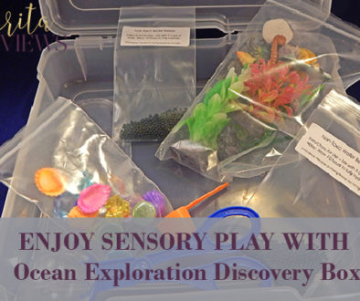 enjoy sensory play with ocean exploration discovery box