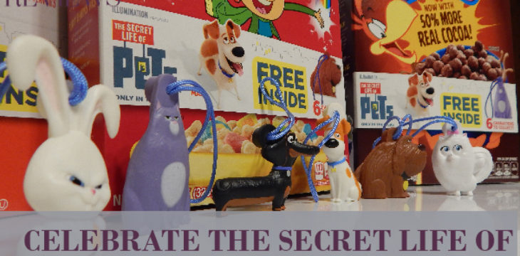celebrate the secret life of pets with general mills