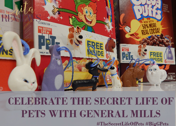 Celebrate The Secret Life of Pets with General Mills #BigGPets