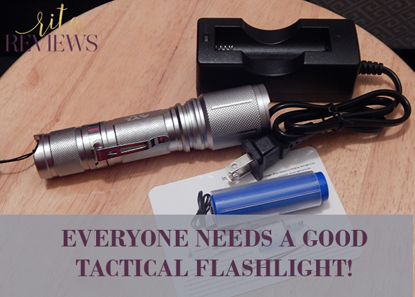 AYL TF89 Bright 900 Lumens LED Tactical Flashlight