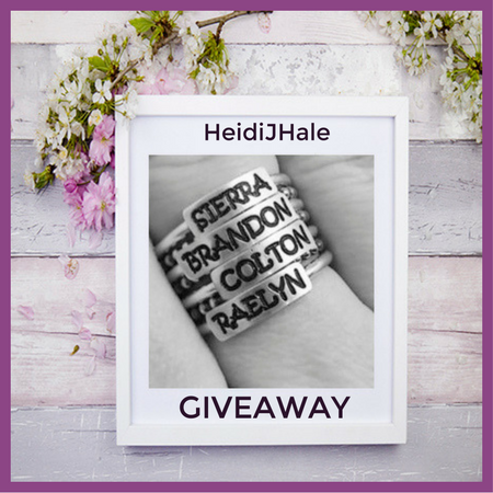HeidiJHale Say It On A Ring Giveaway