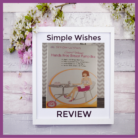 Hands-Free Breastpump from Simple Wishes
