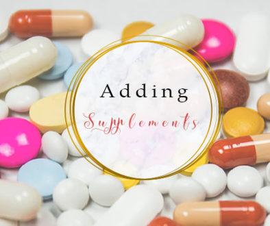 Adding supplements