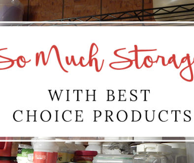 so much storage with best choice products