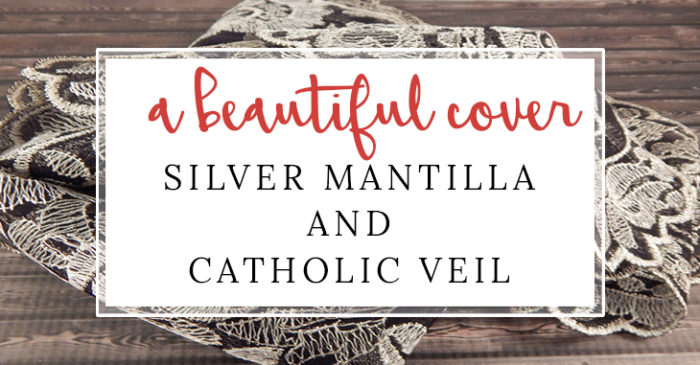 Silver Mantilla and Catholic Veil