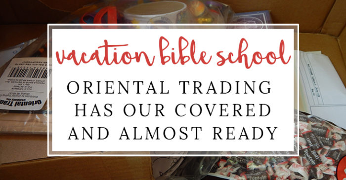 Getting Ready for Vacation Bible School #OrientialTrading